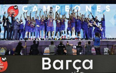 El Barcelona se alza campeón de la Copa del Rey