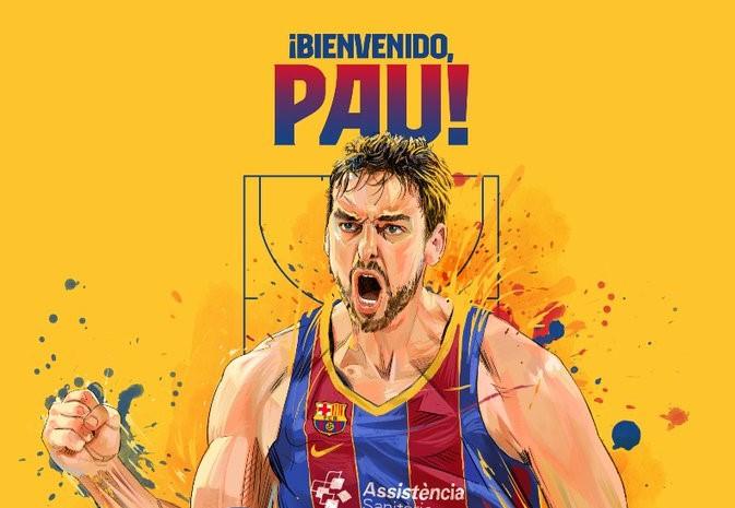 Pau Gasol vuelve al Barça