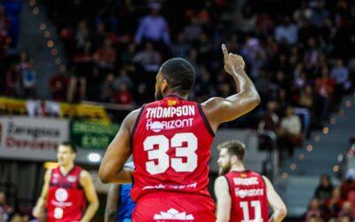 Jason Thompson deja el Basket Zaragoza por motivos personales