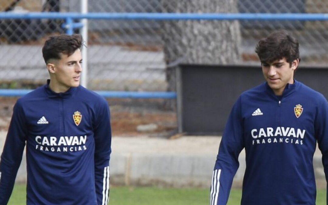 Alejandro Francés e Iván Azón, convocados por la selección Sub-19