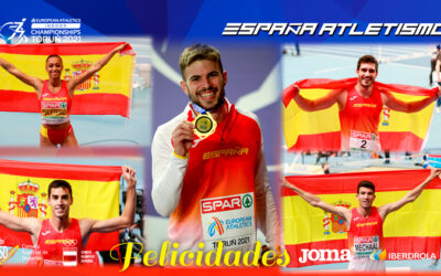 El atletismo español se afianza en Europa