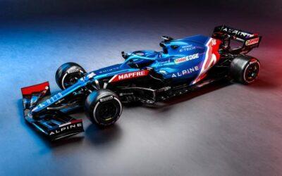 Presentado el nuevo coche de Fernando Alonso