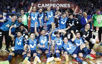 El Movistar Inter campeón de Copa con una goleada histórica