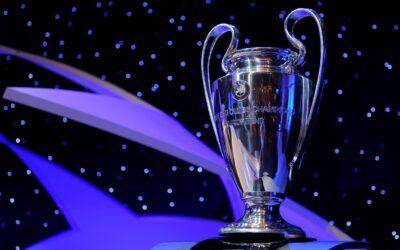 Sorteo de la fase final de la Champions League