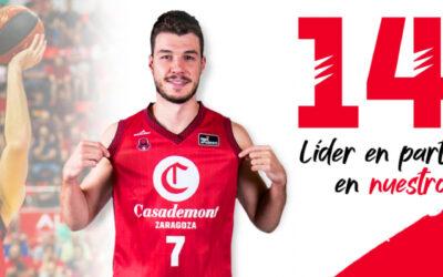 Jonathan Barreiro, jugador con más partidos ACB en la historia del club