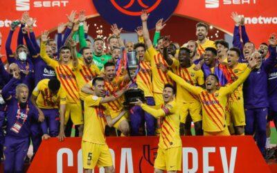 El Barça arroya al Athletic y se proclama campeón de Copa