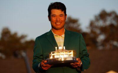 Matsuyama, primer japonés en ganar el Masters de Augusta