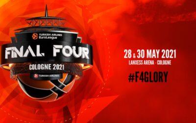 Decididos los cruces de la Final Four de la Euroliga 2021