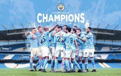 El Manchester City, campeón de la Premier League