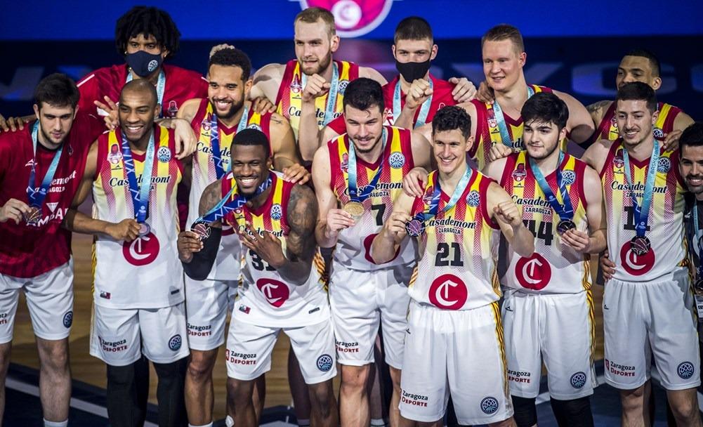 El Basket Zaragoza supera a Strasbourg y termina tercero la BCL