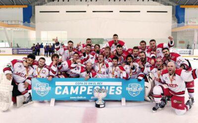 El CH Jaca conquista la Copa del Rey