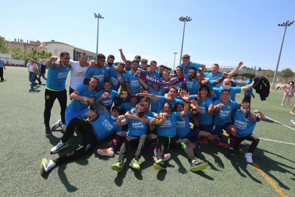 El Huesca B asciende a Segunda RFEF
