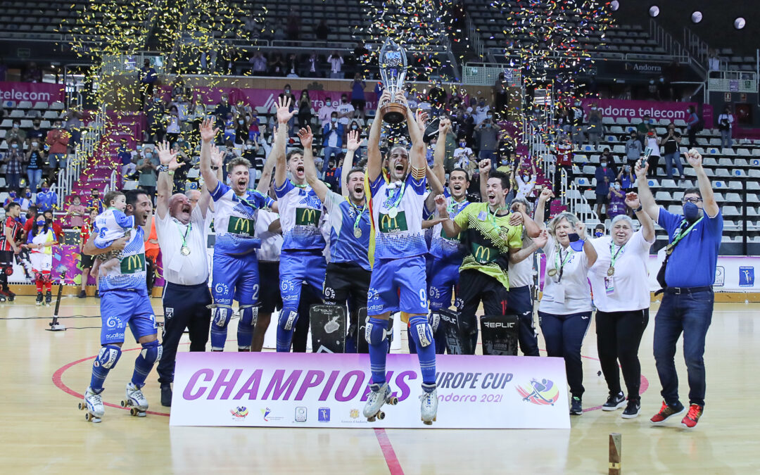 Llista Lleida, campeón de Europa por tercera vez consecutiva