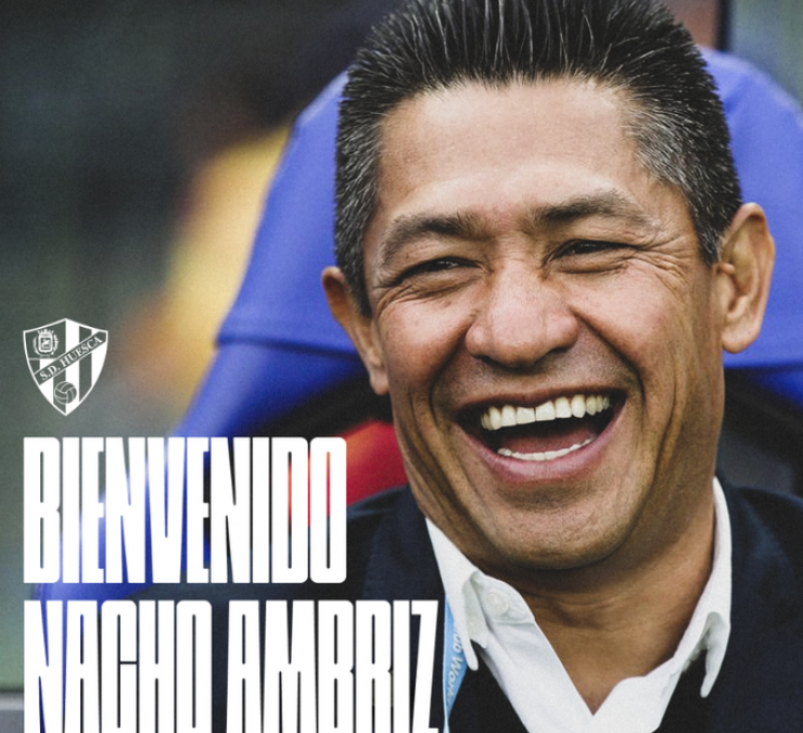 Ignacio Ambriz, nuevo entrenador de la SD Huesca