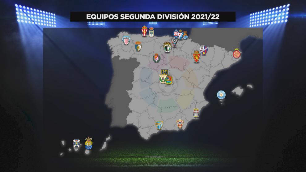 Definidos los equipos que formarán LaLiga SmartBank 2021/22