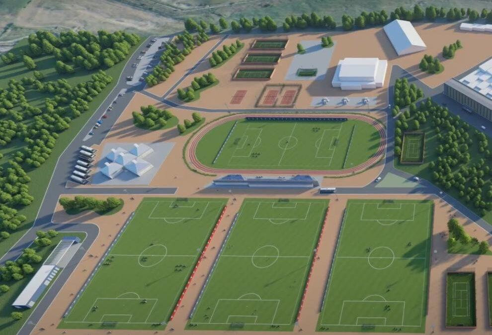 Pistoletazo de salida a la nueva ciudad deportiva de la SD Huesca