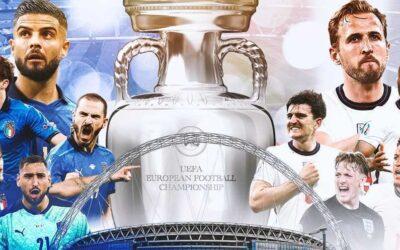 Italia-Inglaterra, final de la Eurocopa 2020
