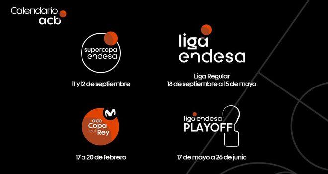 La Liga Endesa 2021-22 comenzará el 18 y 19 de septiembre