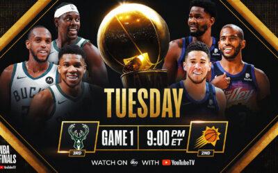 Suns y Bucks disputarán la final más inesperada de la NBA