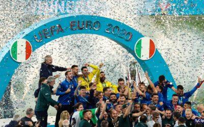 Italia conquista la Eurocopa en Wembley