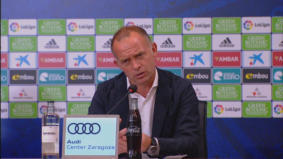 Christian Lapetra confirma la compraventa del Real Zaragoza
