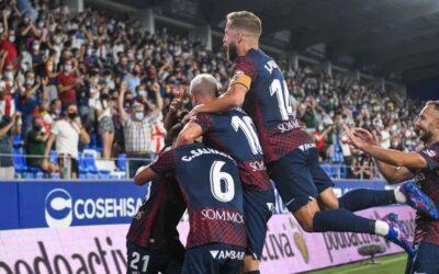 La SD Huesca firma su mejor arranque en Segunda