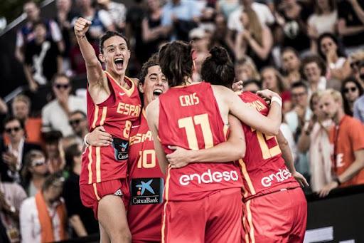 Vega Gimeno, campeona de Europa de 3×3 con España
