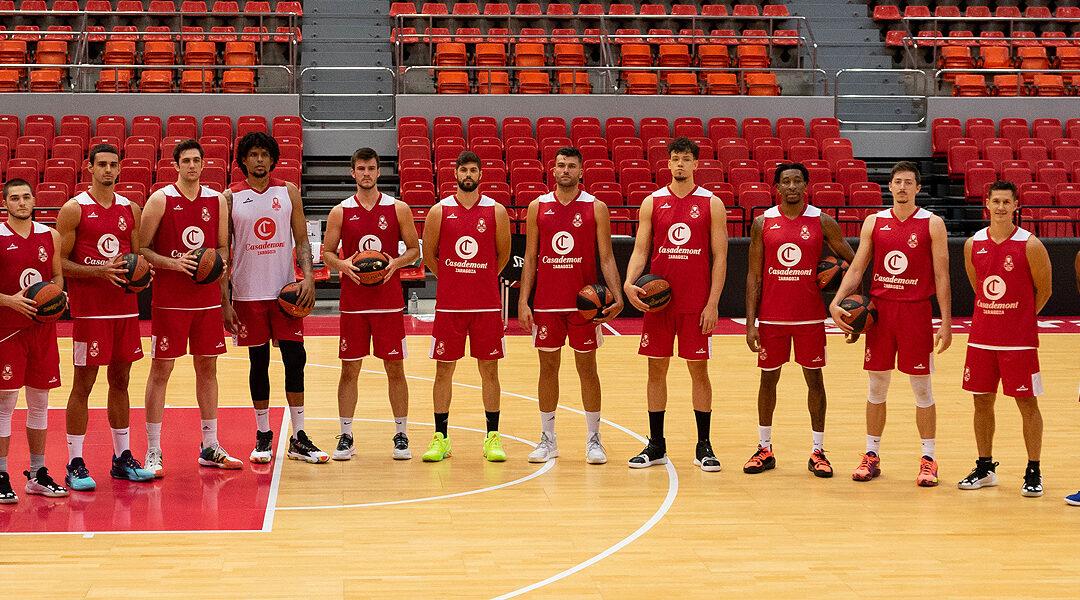 Así queda la plantilla del Basket Zaragoza para la temporada 21/22