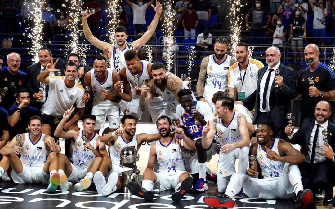 Alocén y Llul lideran la remontada del Real Madrid, que se proclama campeón de la Supercopa Endesa
