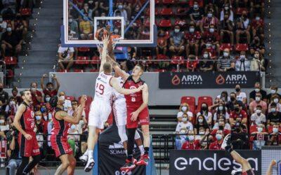 El Basket Zaragoza arranca la Liga Endesa 21/22 con victoria
