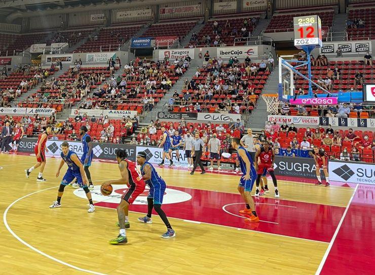 El Basket Zaragoza cierra su pretemporada de forma preocupante