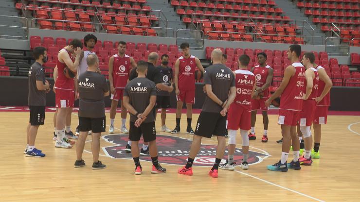 Basket Zaragoza se presenta ante su afición