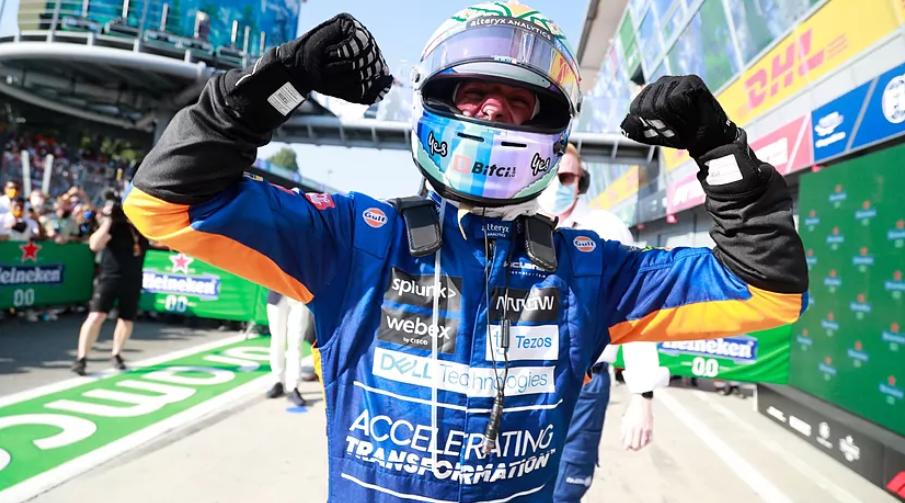 Ricciardo gana el GP Italia, en el que Verstappen y Hamilton tuvieron que retirarse tras un accidente