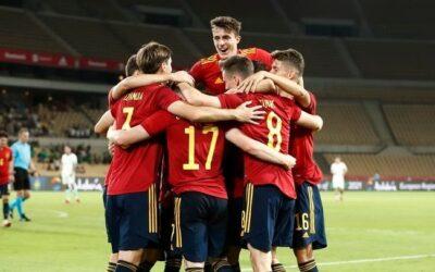 La Sub-21 sigue invicta y consigue el pleno de victorias, con Francés de titular