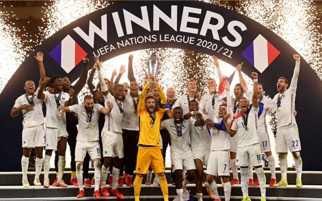 Francia le arrebata la UEFA Nations League a España con polémica